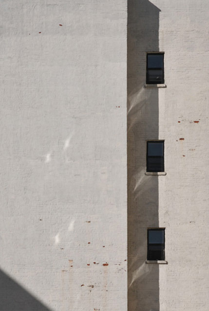 ave C shadow row vertical windows